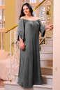 Платье оверсайз серого цвета No6|интернет-магазин vvlen.com