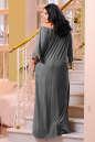 Платье оверсайз серого цвета No7|интернет-магазин vvlen.com
