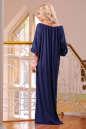Платье оверсайз темно-синего цвета 2423.86 No2|интернет-магазин vvlen.com