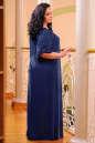 Платье оверсайз темно-синего цвета 2423.86 No5|интернет-магазин vvlen.com