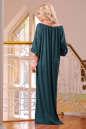 Платье оверсайз темно-зеленого цвета 2423.86 No2 интернет-магазин vvlen.com