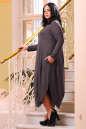 Платье оверсайз капучино цвета No4|интернет-магазин vvlen.com