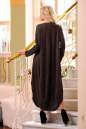 Платье оверсайз коричневого цвета No2|интернет-магазин vvlen.com