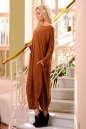 Платье оверсайз светло-коричневого цвета No1|интернет-магазин vvlen.com