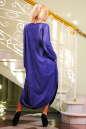 Платье оверсайз синего в горох цвета No1|интернет-магазин vvlen.com