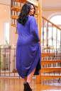 Платье оверсайз синего в горох цвета No3|интернет-магазин vvlen.com