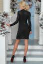 Коктейльное платье футляр черного цвета 2463.5 No3|интернет-магазин vvlen.com