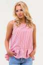 Блуза красной полоски цвета No0|интернет-магазин vvlen.com