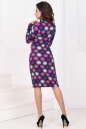 Повседневное платье гольф сиреневого цвета 936.17 No3 интернет-магазин vvlen.com