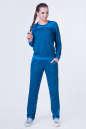 Спортивный костюм синего цвета 2378.87 No0|интернет-магазин vvlen.com