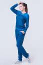 Спортивный костюм синего цвета 2378.87 No1|интернет-магазин vvlen.com