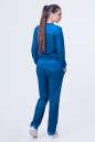 Спортивный костюм синего цвета 2378.87 No2|интернет-магазин vvlen.com
