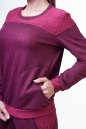 Спортивный костюм бордового цвета 2378.87 No3|интернет-магазин vvlen.com