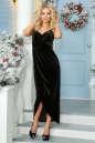 Вечернее платье комбинация черного цвета No1|интернет-магазин vvlen.com
