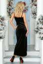 Вечернее платье комбинация черного цвета No3|интернет-магазин vvlen.com