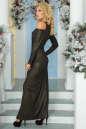 Вечернее платье с расклешённой юбкой черного цвета No2|интернет-магазин vvlen.com