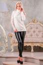 Свитшот молочного цвета  2459 No1 интернет-магазин vvlen.com