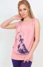 Блуза розового цвета  1121.17|интернет-магазин vvlen.com