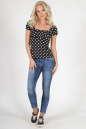 Блуза черного цвета 579.17 No0|интернет-магазин vvlen.com