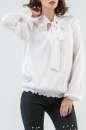 Блуза белого цвета 2577.84 No0|интернет-магазин vvlen.com
