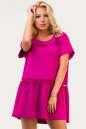 Летнее платье балахон малинового цвета No0|интернет-магазин vvlen.com
