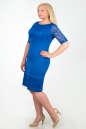 Платье футляр электрика цвета  No2|интернет-магазин vvlen.com