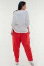 Брюки женские красного цвета it 604 No2|интернет-магазин vvlen.com