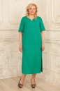 Летнее платье балахон бирюзового цвета No0|интернет-магазин vvlen.com