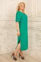Летнее платье балахон бирюзового цвета No1|интернет-магазин vvlen.com