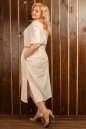 Платье  мешок молочного цвета 2328.81 No2|интернет-магазин vvlen.com