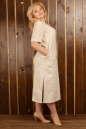 Платье  мешок молочного цвета  No3|интернет-магазин vvlen.com