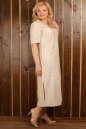 Платье  мешок молочного цвета  No6|интернет-магазин vvlen.com