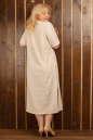 Платье  мешок молочного цвета 2328.81 No7|интернет-магазин vvlen.com