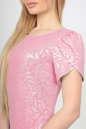 Летнее платье футляр розового цвета No4|интернет-магазин vvlen.com