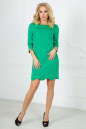 Повседневное платье футляр зеленого цвета 2503.47 No1|интернет-магазин vvlen.com