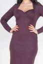 Платье футляр фиолетового цвета  No1|интернет-магазин vvlen.com