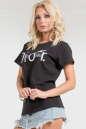 Летняя футболка с надписью No1|интернет-магазин vvlen.com