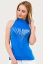 Майка женская голубого цвета 796.17 No0|интернет-магазин vvlen.com