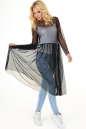 Клубное платье с пышной юбкой черного цвета No1|интернет-магазин vvlen.com