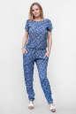 Блуза синего с розовым цвета No3|интернет-магазин vvlen.com