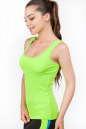 Майка для фитнеса зеленого цвета 2360.67 No1|интернет-магазин vvlen.com