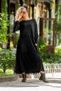 Платье оверсайз черного цвета|интернет-магазин vvlen.com