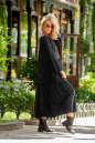 Платье оверсайз черного цвета No1|интернет-магазин vvlen.com