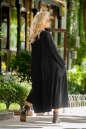 Платье оверсайз черного цвета No2|интернет-магазин vvlen.com