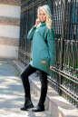Худи оверсайз зеленого цвета  2404.79 No1|интернет-магазин vvlen.com