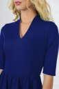Повседневное платье с пышной юбкой электрика цвета 2507.47 No2|интернет-магазин vvlen.com
