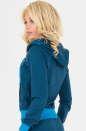Спортивная кофта синего цвета 153-154 No2|интернет-магазин vvlen.com
