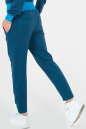 Спортивные штаны синего цвета 154 No2|интернет-магазин vvlen.com