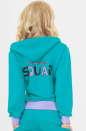 Спортивная кофта мятного цвета 158 No2|интернет-магазин vvlen.com