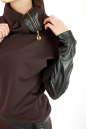 Свитшот коричневого цвета No5|интернет-магазин vvlen.com